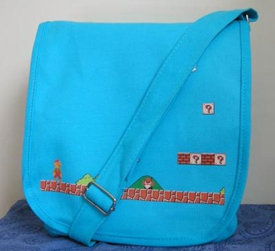 NES Super Mario Messenger Bag