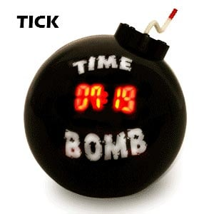 time bomb alarm clock
