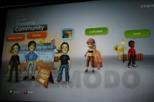 Geeky Gaming – Xbox Live Dashboard Redesign with Mii Style Avatars