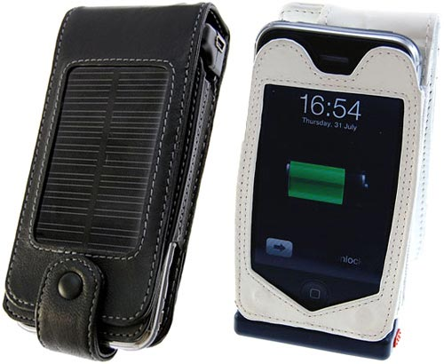 3g iPhone solar charging case