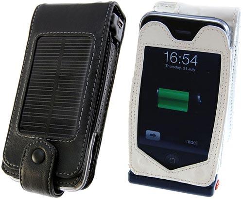 3g iPhone solar charging case