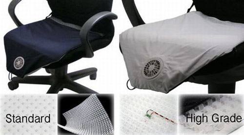 air conditioned seat cushion