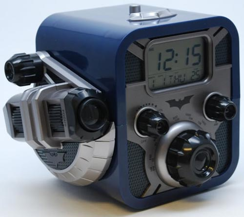 Cool Gadgets The Batman Alarm Clock With Built In Bat Signal
