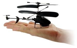 Geek Toys – The Black Stealth 3-Channel R/C Helicopter