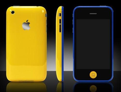 3g iphone colorware