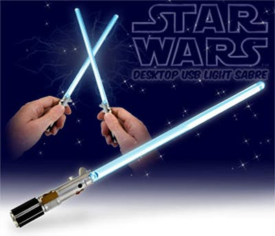 desktop usb light sabre