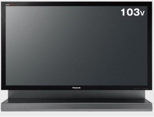 Panasonic Launches a  103 Inch PDP TV – The TH-103PZ800