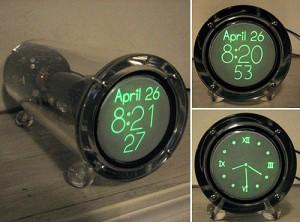 Geeky Clocks – The SCRA Scope Clock