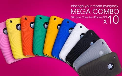 silicone mega pack 3g iphone