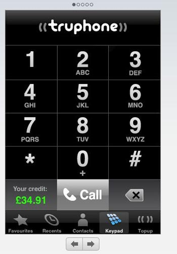 truphone iphone voip app