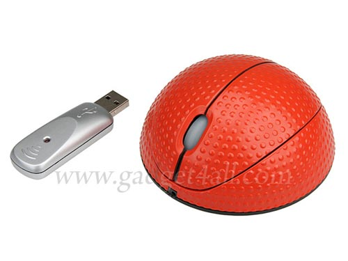 usb wireless basketball mouse