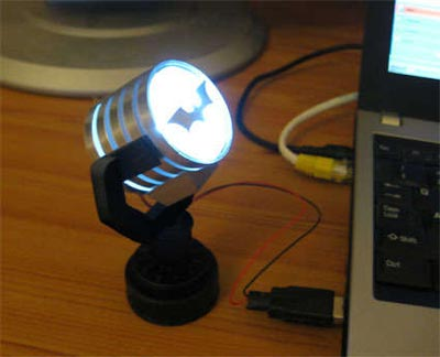 Cool Mods Make Your Own Usb Bat Signal Light Geeky Gadgets