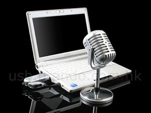USB Gadgets – The USB Retro Wireless Microphone
