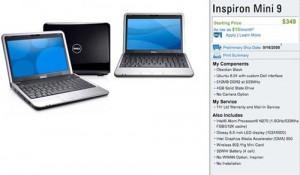 Dell's Inspiron Mini 9 Netbook – Full Details