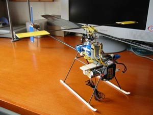diy r/c helicopter
