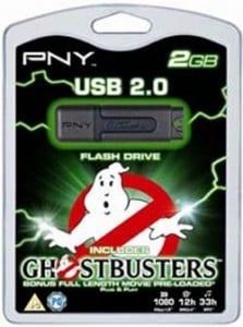 USB Gadgets – PNY USB flash drive comes with Ghostbusters Movie