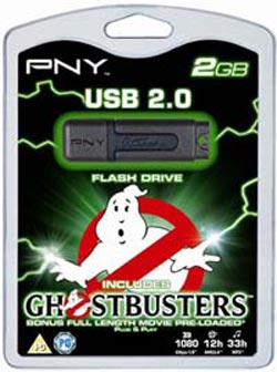 ghostbusters usb flash drive