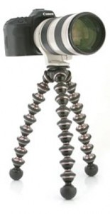 Joby launch the gorillapod Focus for professional cameras
