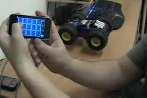 iphone rc car