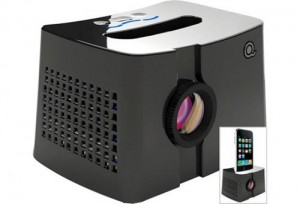 iPhone Accessories – The Portable iPhone Dock Projector – The QingBar MP101