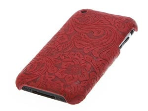 3g iphone case - red