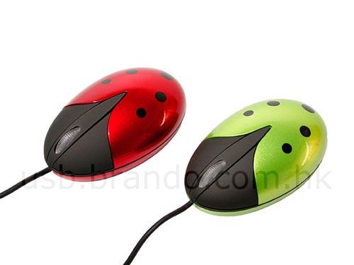 ladybug mouse