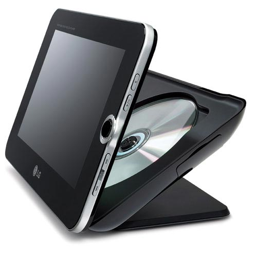 LG Dp889 digital photo frame dvd player