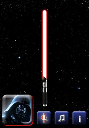 lightsaber unleashed - iPhone