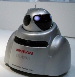 Nissan's Crash Avoiding Robot Car – Nissan BR32C
