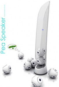 Cool Concepts – The Pea Speaker System