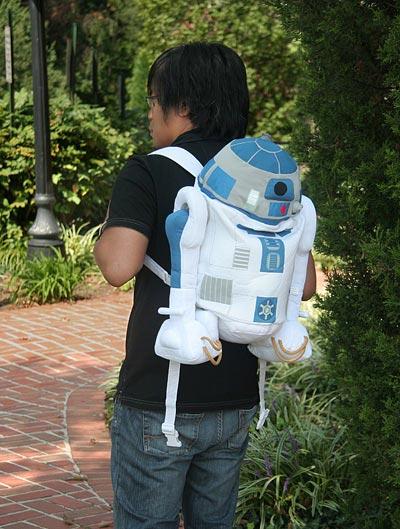 r2-d2 plush backpack
