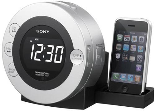 sony iPhone dock
