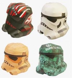 Fun Stuff – DIY Papercraft Stormtrooper Helmets