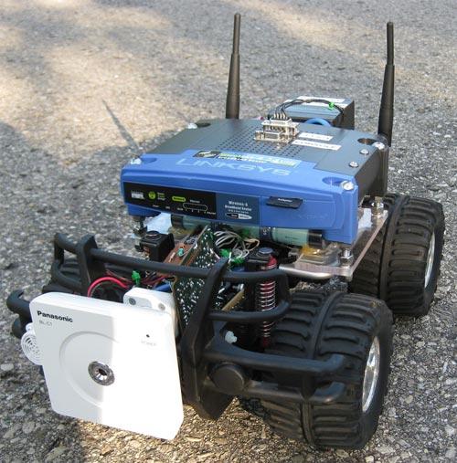 wi fi robot