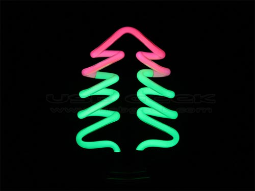 Christmas Gadgets The Usb Christmas Tree Neon Light