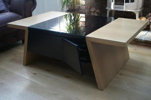 Geeky Gaming The Contemporary Arcade Coffee Table