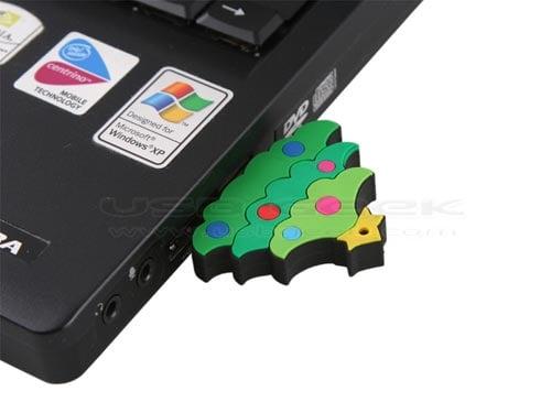 christmas USB drive