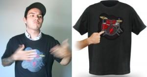 Geek Clothing – The Drum Kit T-Shirt