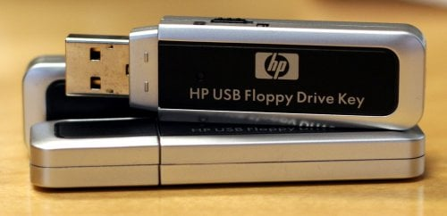 hp usb floppy key
