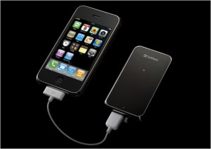 iPhone Battery Extender & Mobile TV receiver