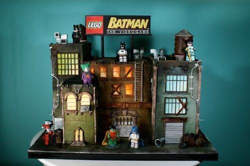 Geek cakes the lego batman cake