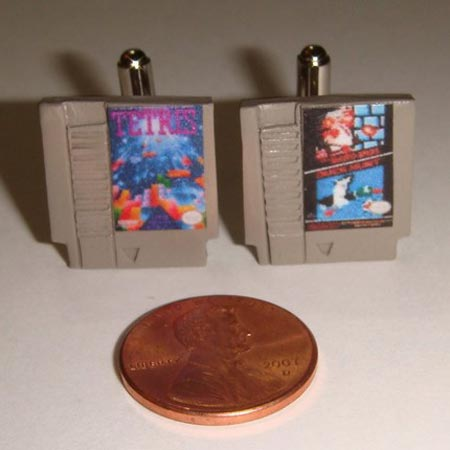 NES Cartridge Cufflinks