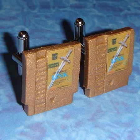 NES Cartridge Cufflinks