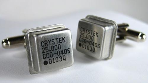 oscillator cufflinks