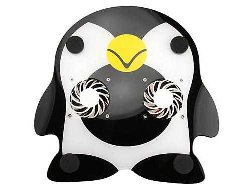penguin USB cooling pad