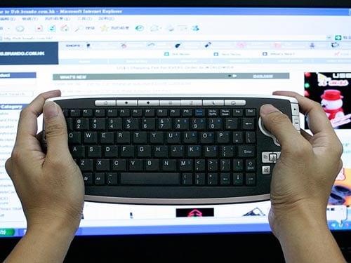 tiny keyboard