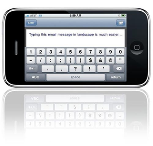 touch type iPhone app