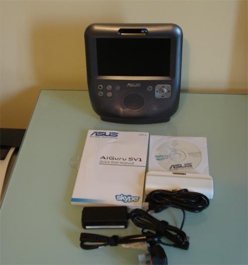 Asus AiGuru SV1 Skype Videophone - Review