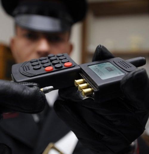 cellphone gun