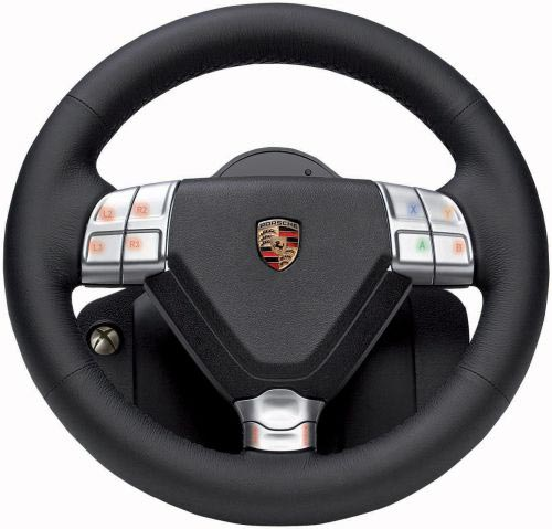 مقارنه دركسون مقود Porsche 911 Turbo Wheel مــع Logitech